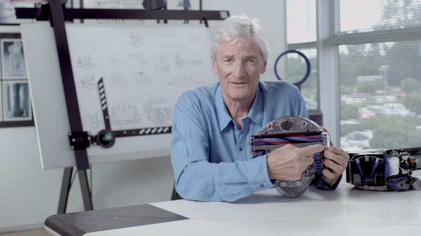 james dyson cyclone vacuum