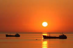 Cyprus shipping sun